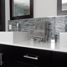 Modern Bathroom by Fidelity General Contractors Inc.