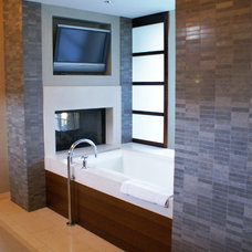 Modern Bathroom by SLIC Interiors