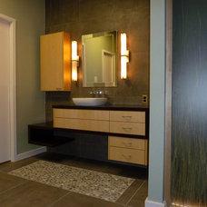 Modern Bathroom by Lone Star Remodeling And Renovations