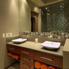 modern bathroom by Stillwater Dwellings