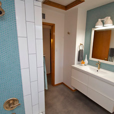 Modern Bathroom by The Ranch Mine