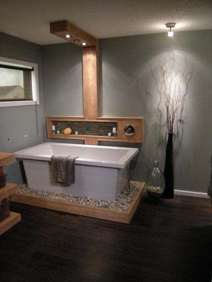 Modern Bathroom by Unique Wood Floors