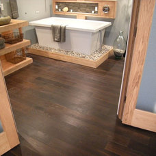 Modern Bathroom by Unique Wood Floors