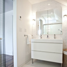 Modern Bathroom by Rock Paper Hammer