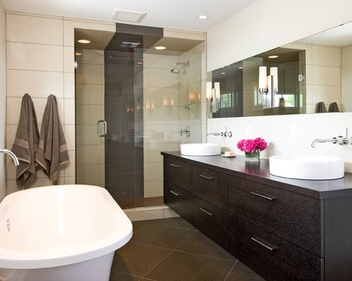 vanity next to shower design ideas remodel pictures houzz