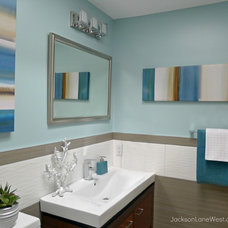 Modern Bathroom by Jackson Lane West