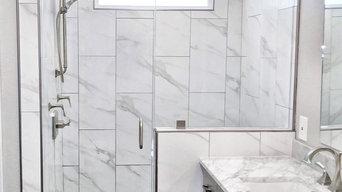 Modern Bathroom with Frameless Shower Glass