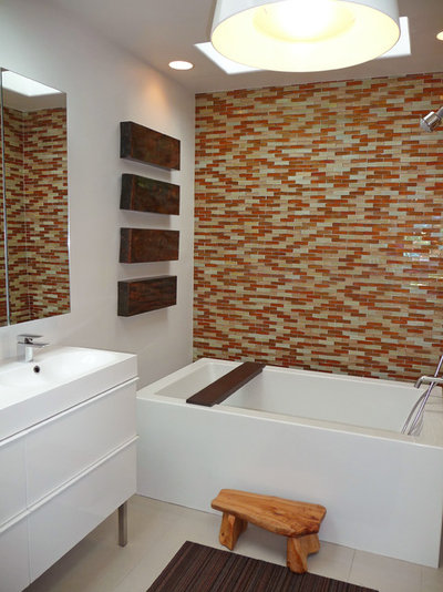 Modern Bathroom by Flea Market Sunday