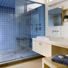 Modern Bathroom by ZeroEnergy Design