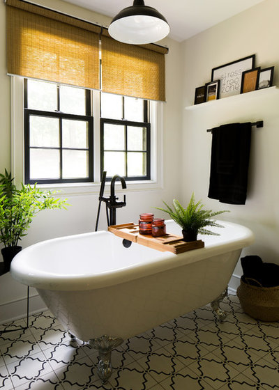 Transitional Bathroom by KH Home Design and Furnishings
