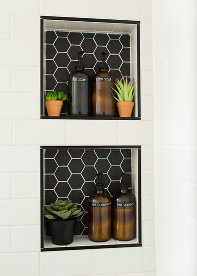 Eclectic Bathroom by KH Home Design and Furnishings