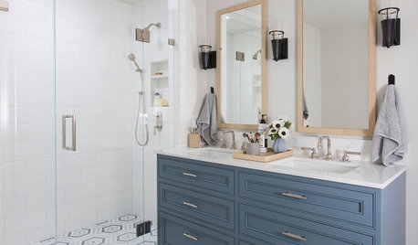 New This Week: 9 Bathrooms With Stylish Walk-In Showers