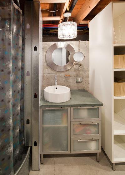Contemporary Bathroom by Sam Van Fleet Photography