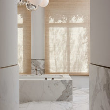 Contemporary Bathroom by Peninsula Custom Homes