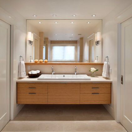 modern bathroom by Sullivan Design Studio