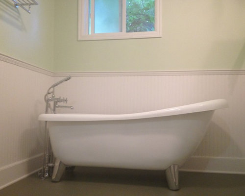 Modern clawfoot tub design ideas remodel pictures houzz for Modern claw foot tub