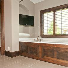 Modern Bathroom by Wende Woodworking LLC
