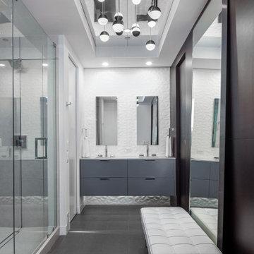 Modern Condo Bathroom Remodel