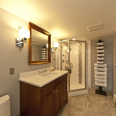Modern Bathroom by DJ's Home Improvements