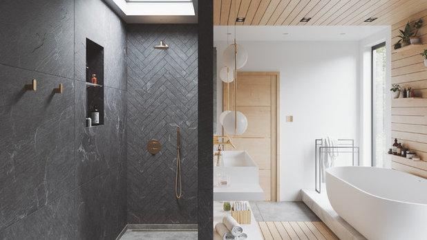 Contemporary Bathroom by Dibujo.design Interiors