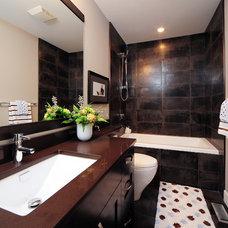Contemporary Bathroom by Kon-strux Developments