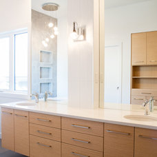 Contemporary Bathroom by Design Kitchens & Countertops