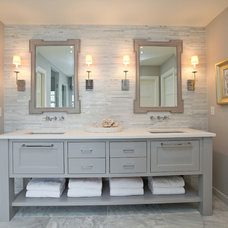 Contemporary Bathroom by REFINED LLC