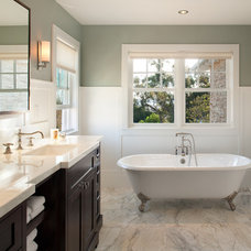 Traditional Bathroom by Hill Construction Company