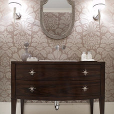 transitional bathroom by Beth Dotolo, RID, ASID