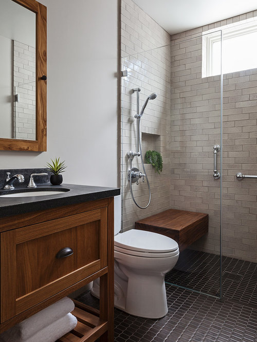 Best 30 craftsman bathroom ideas decoration pictures houzz for Craftsman bathroom design