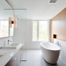 Modern Bathroom by Gordon Weima Design Builder