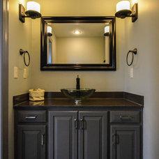 Modern Bathroom by Owen Homes LLC