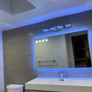 Modern custom luxury bathroom