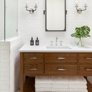 75 most popular modern bathroom with terra-cotta floors