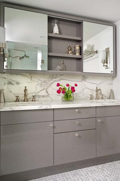 Modern Bathroom by Jodie Rosen Design