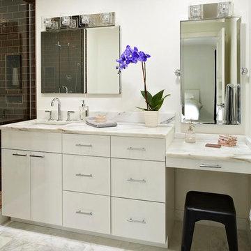Modern, Elegant Master Bathroom Boulder, CO