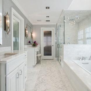 Porte coulissante de salle de bain : Photos et idées déco