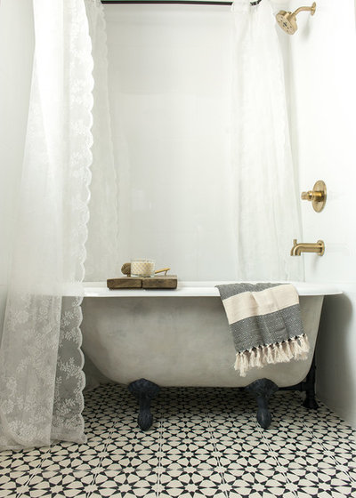 Farmhouse Bathroom by Jenna Sue Design Co.