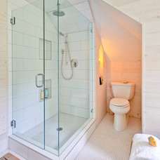 Farmhouse Bathroom by Hammer & Hand
