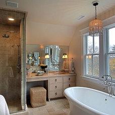 Transitional Bathroom by KDW Home/Kitchen Designworks