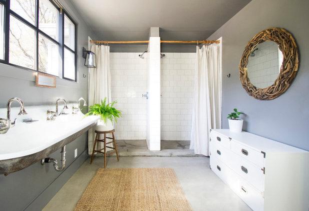 Farmhouse Bathroom by G Family, Inc.