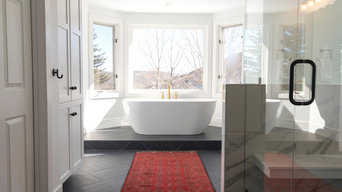 Modern Farmhouse Master Bath, Park City, Utah