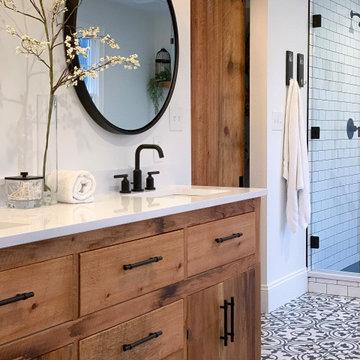 Modern Farmhouse Master Bathroom (Hellertown)