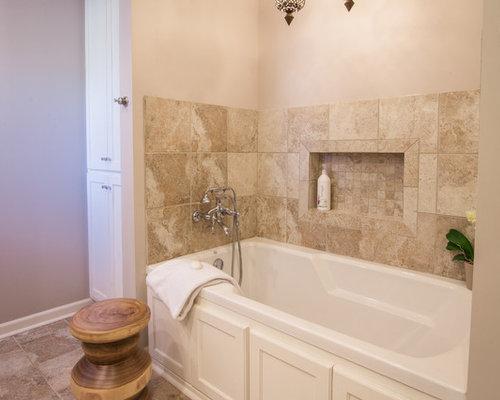 Farmhouse New Orleans Bathroom Design Ideas Remodels Photos
