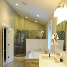 Modern Bathroom by Rethink Renovations