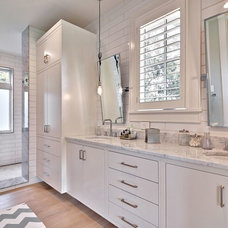 Farmhouse Bathroom by Tim Brown Architecture