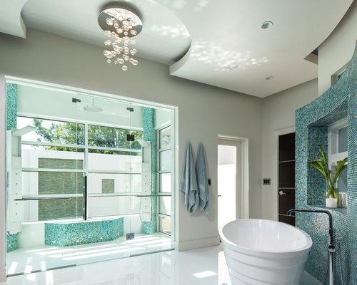 Bathroom shower tub - Modern Ceiling Design Houzz