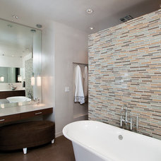 modern bathroom by Burns Century Interior Design