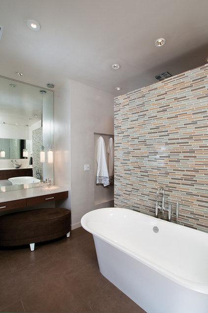 Modern Bathroom by Burns Century Interior Design