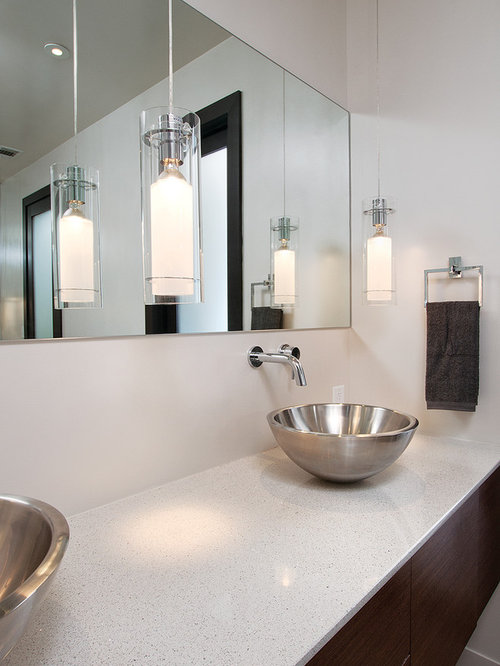 Bathroom   Modern Bathroom Idea In Atlanta With A Vessel Sink